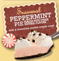Marie Calendar's Peppermint Pie