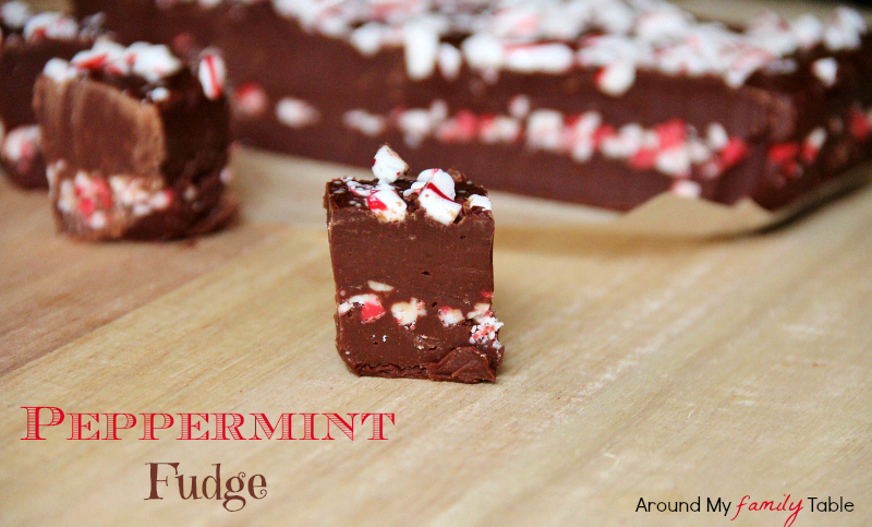This Peppermint Fudge Recipe is bursting with 2 layers of peppermint ...