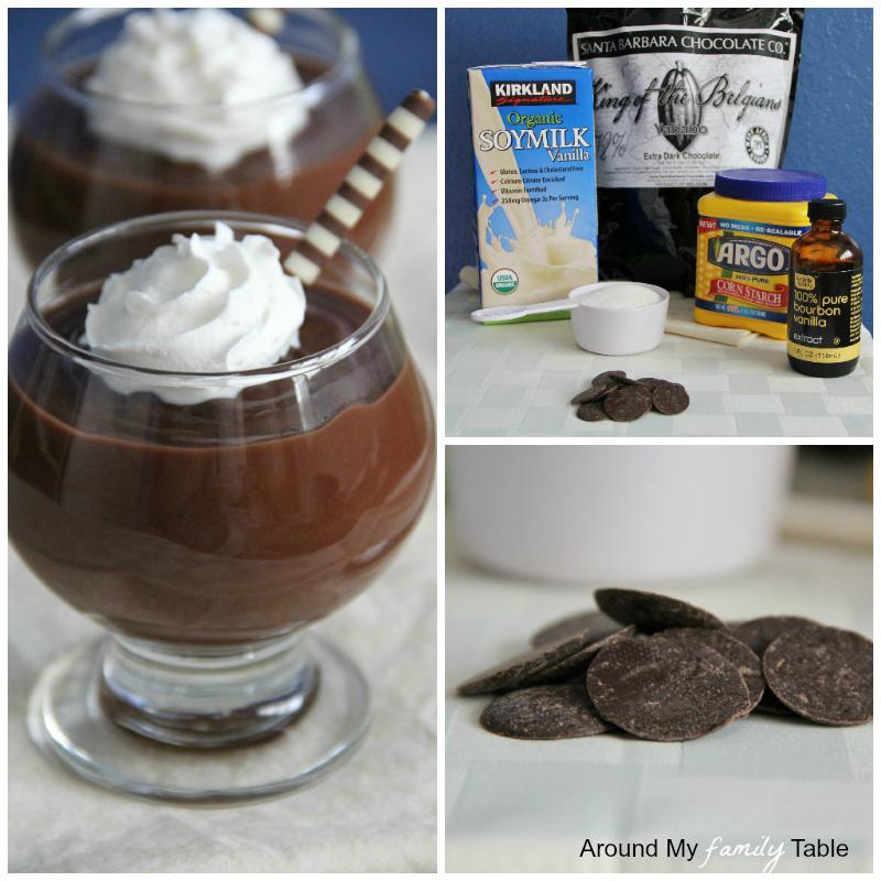 Vegan Dark Chocolate Pudding