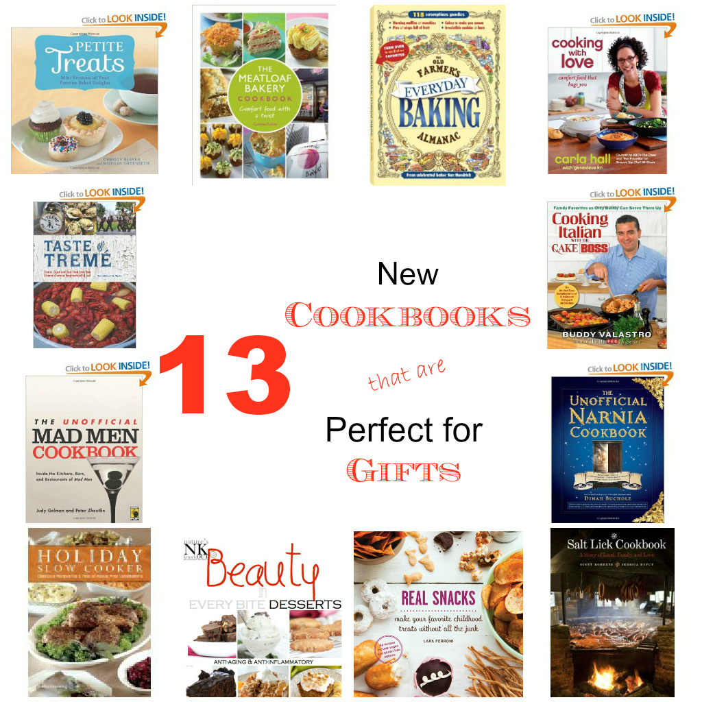 13 Cookbook Gift Ideas