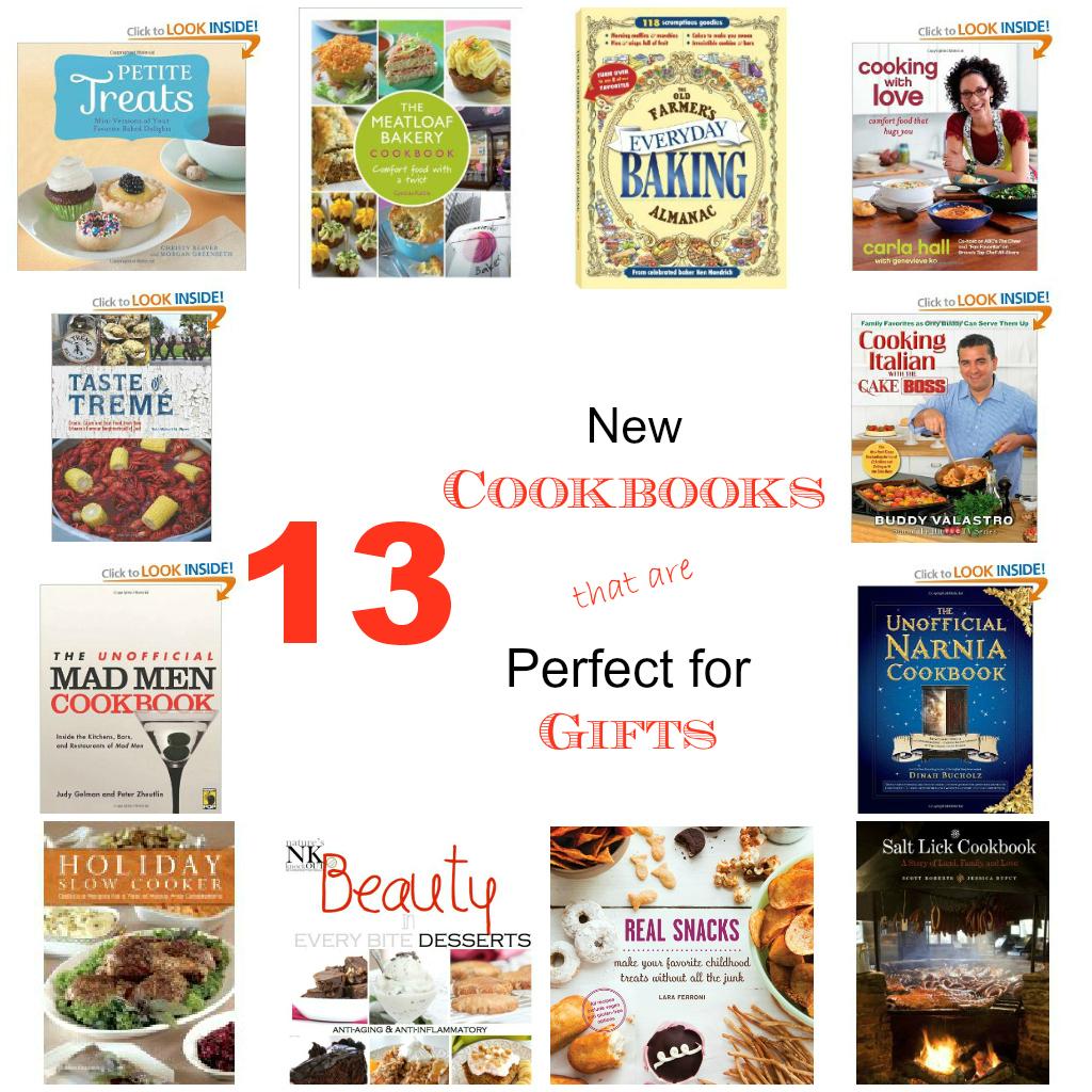 13 Cookbook Gift Ideas