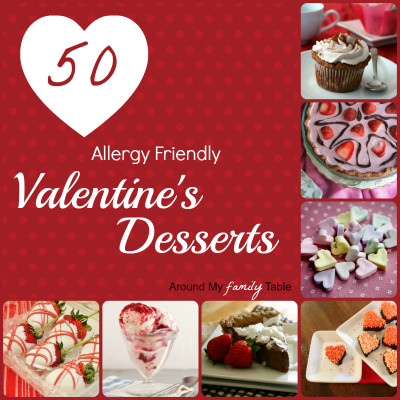 50 Allergy Friendly Valentine's Desserts