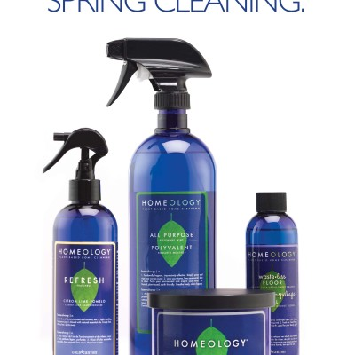 Spring Cleaning with Homeology