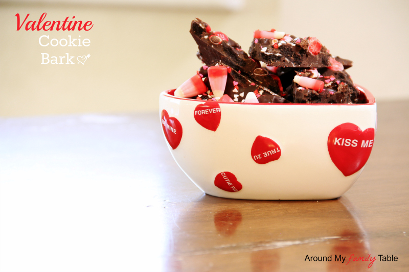 Valentine Cookie Bark