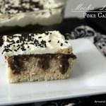 Mocha Latte Poke Cake