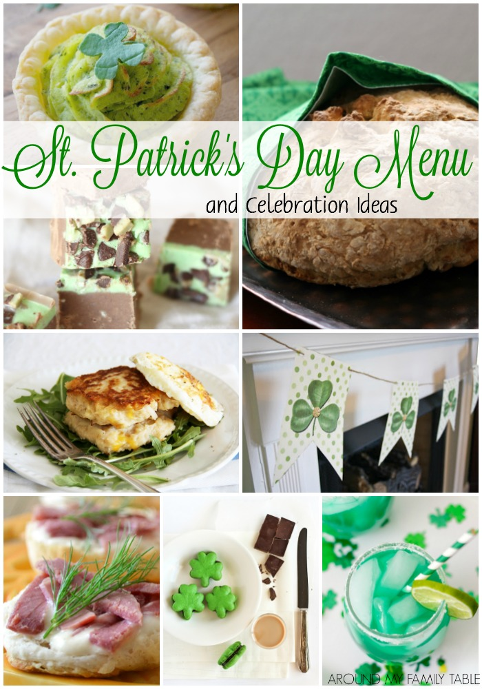 St. Patrick's Day Menu and Ideas