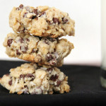Vegan Chocolate Coconut Oatmeal Cookies