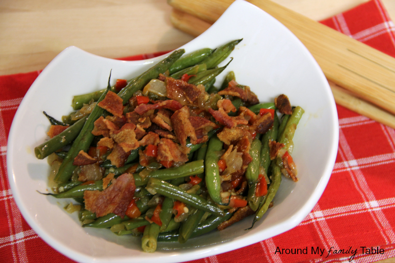 how to add flavor to green beans
