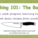 Cooking 101 Basics Overview