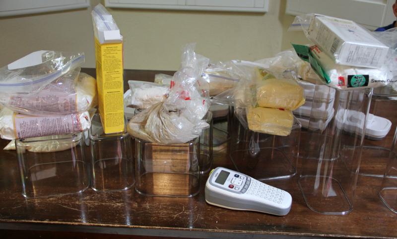 Organizing Gluten Free Flours