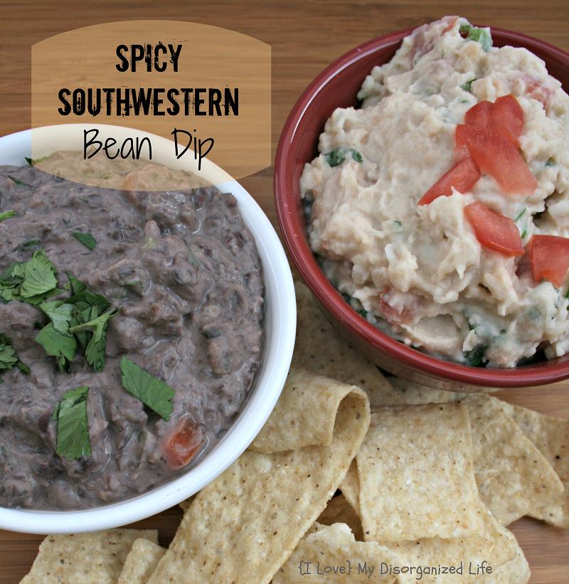 Spicy Southwestern Bean Dip