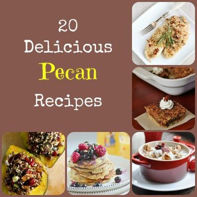 20 Delicious Pecan Recipes