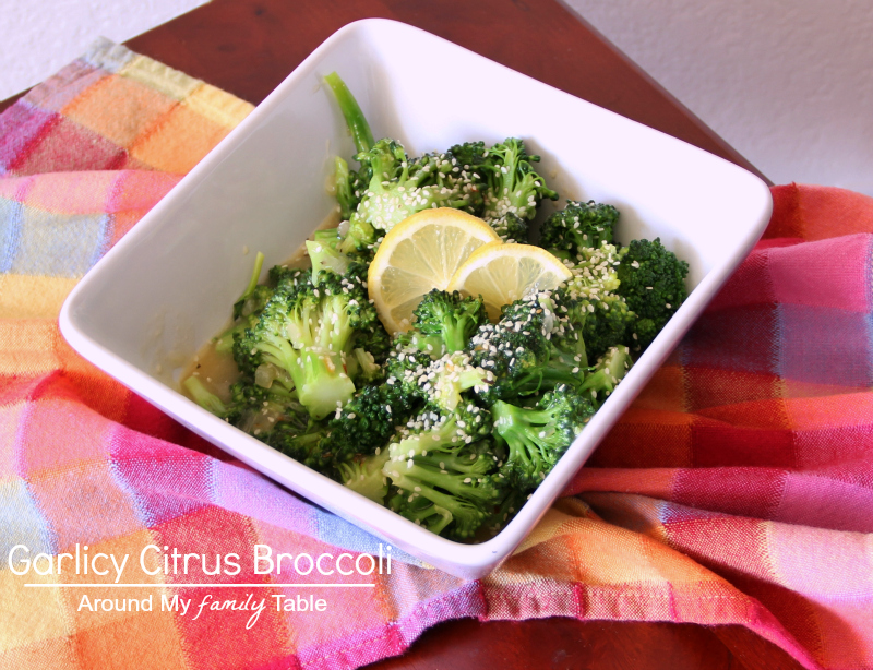 Garlic Citrus Broccoli