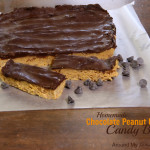 Homemade Chocolate Peanut Butter Candy Bars