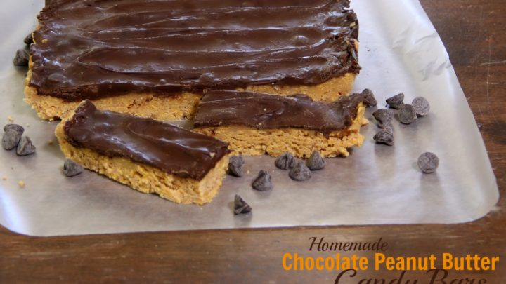 Homemade Chocolate Peanut Butter Candy