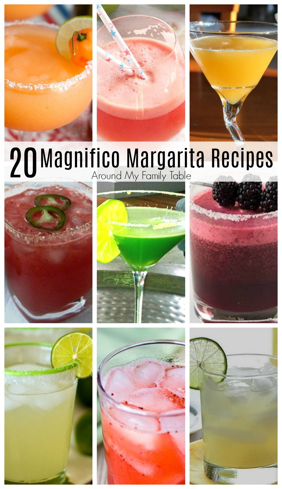 Step out of your triple sec Margarita box and try one of these 20 Margarita Recipes that really elevate the traditional Margarita into something even more amazing! #margaritas #tequila
