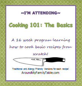 Cooking 101: The Basics~~ class button