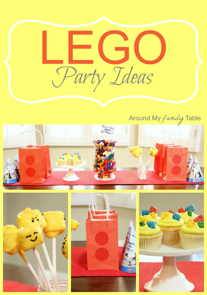 No Lego Party is complete without some delicious Lego Cupcakes, Lego Party Games, and cute Lego goodie bags. There are tons of great Lego Party Ideas for the little lego fan in your family.