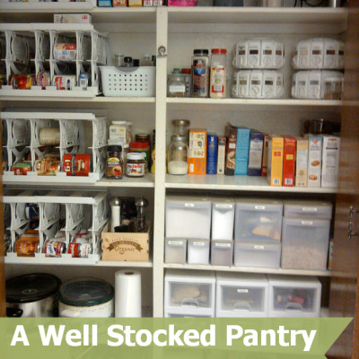Cooking 101 Basics Week #1 – A Well Stocked Pantry