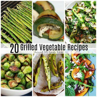 20 Grilled Vegetable Recipes for Summer