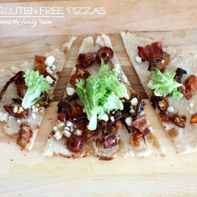 Grilled Gluten Free Pizzas
