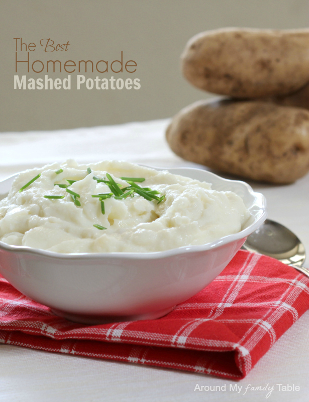 The Best Homemade Mashed Potatoes