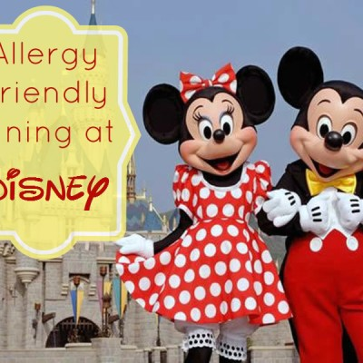 Allergy Free Disney Vacations