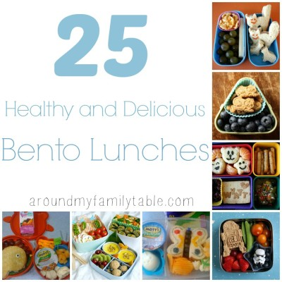 25 Healthy & Delicious Bento Lunches