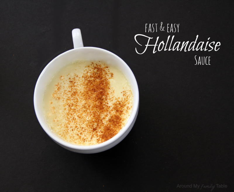 how to make easy homemade hollandaise sauce