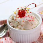 Gluten Free-Vegan Cake Batter Ice Cream