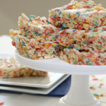 Fruity Pebble Krispies Treats