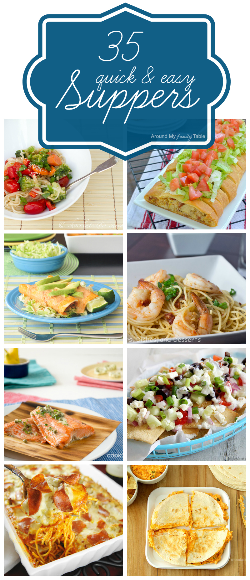 35 Quick & Easy Supper Ideas