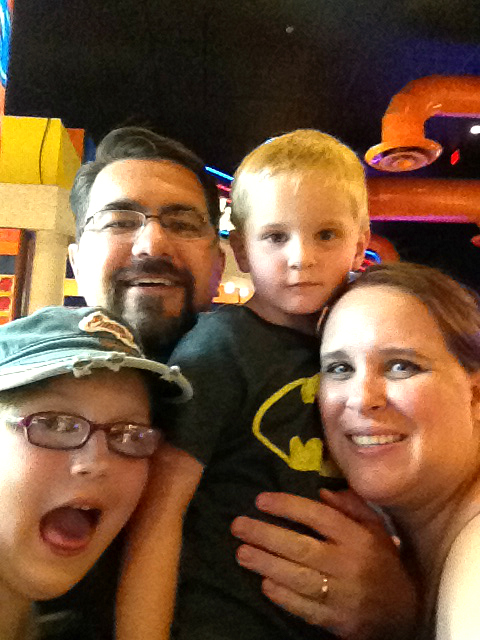 Family Fun at Dave & Busters
