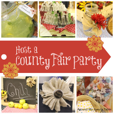 Host a County Fair Party