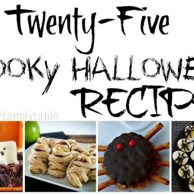 25 Spooky Halloween Recipes