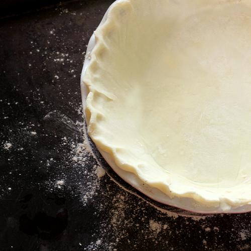 Perfect Pie Dough -- 2 recipes: traditional & gf/vegan