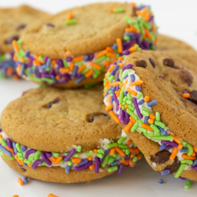 Easy Halloween Sandwich Cookies