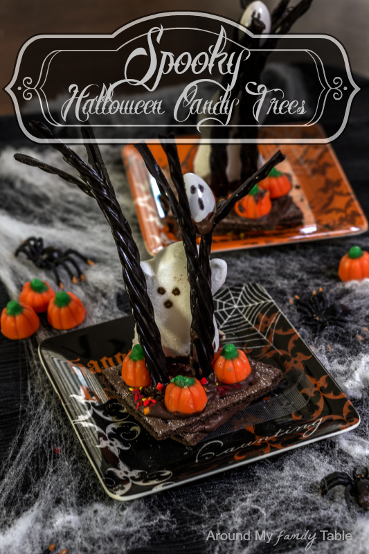 Spooky Halloween Candy Trees