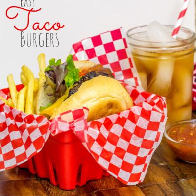 Easy Taco Burgers