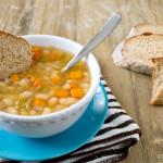 Slow Cooker Italian Vegetarian Bean Soup
