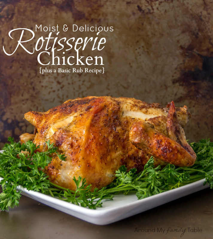 How To Make The Perfect Rotisserie Chicken Amp Basic Rub Amft