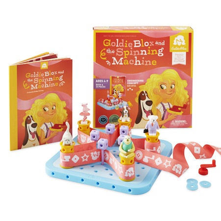 GoldieBlox are the perfect gift for the 4-9yo girl. Projects that inspire creativity and learning.