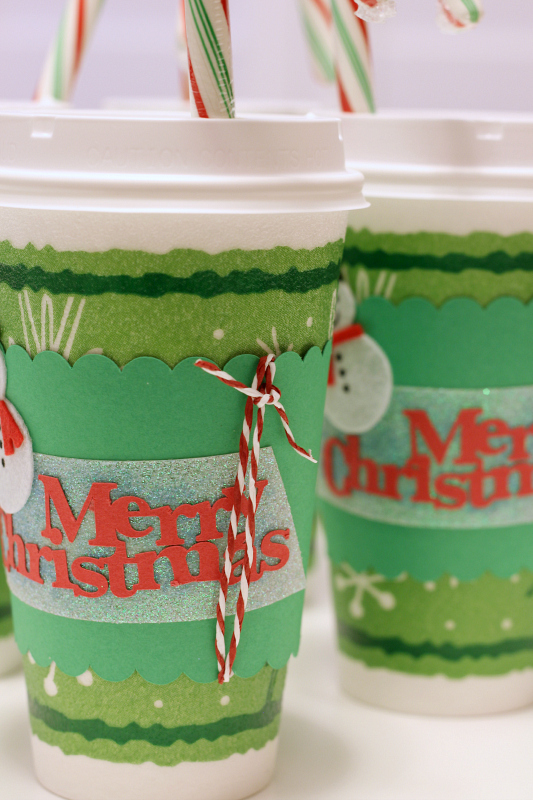 I love these easy Homemade Christmas Gifts for teachers, friends, or anyone who needs a little gift. Perfect for use with silhouette or silhouette cameo.