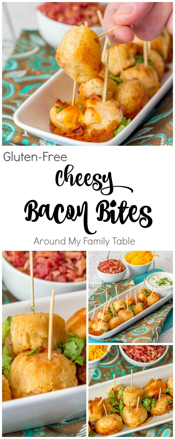 Gluten-Free Cheesy Bacon Bites Appetizer