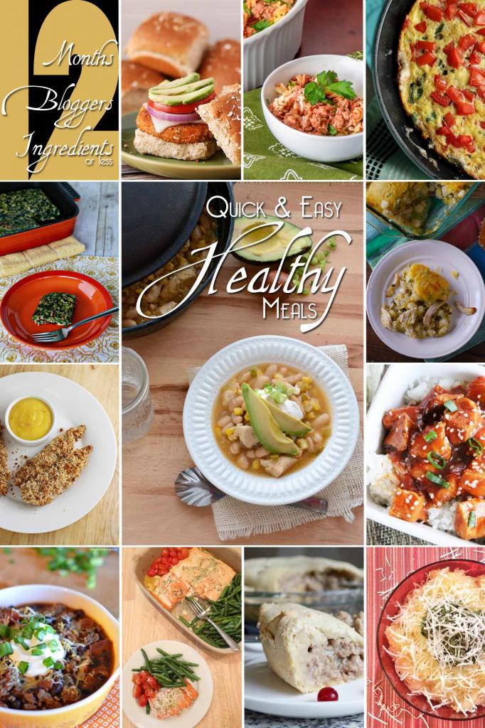 12 Healthy Meals