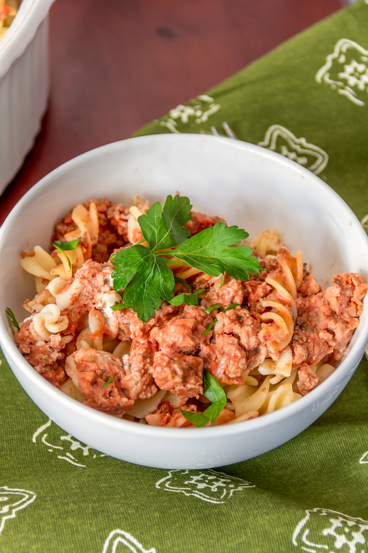 Clean Eating: Quick & Healthy Baked Ziti...plus it's gluten free!  #12bloggers
