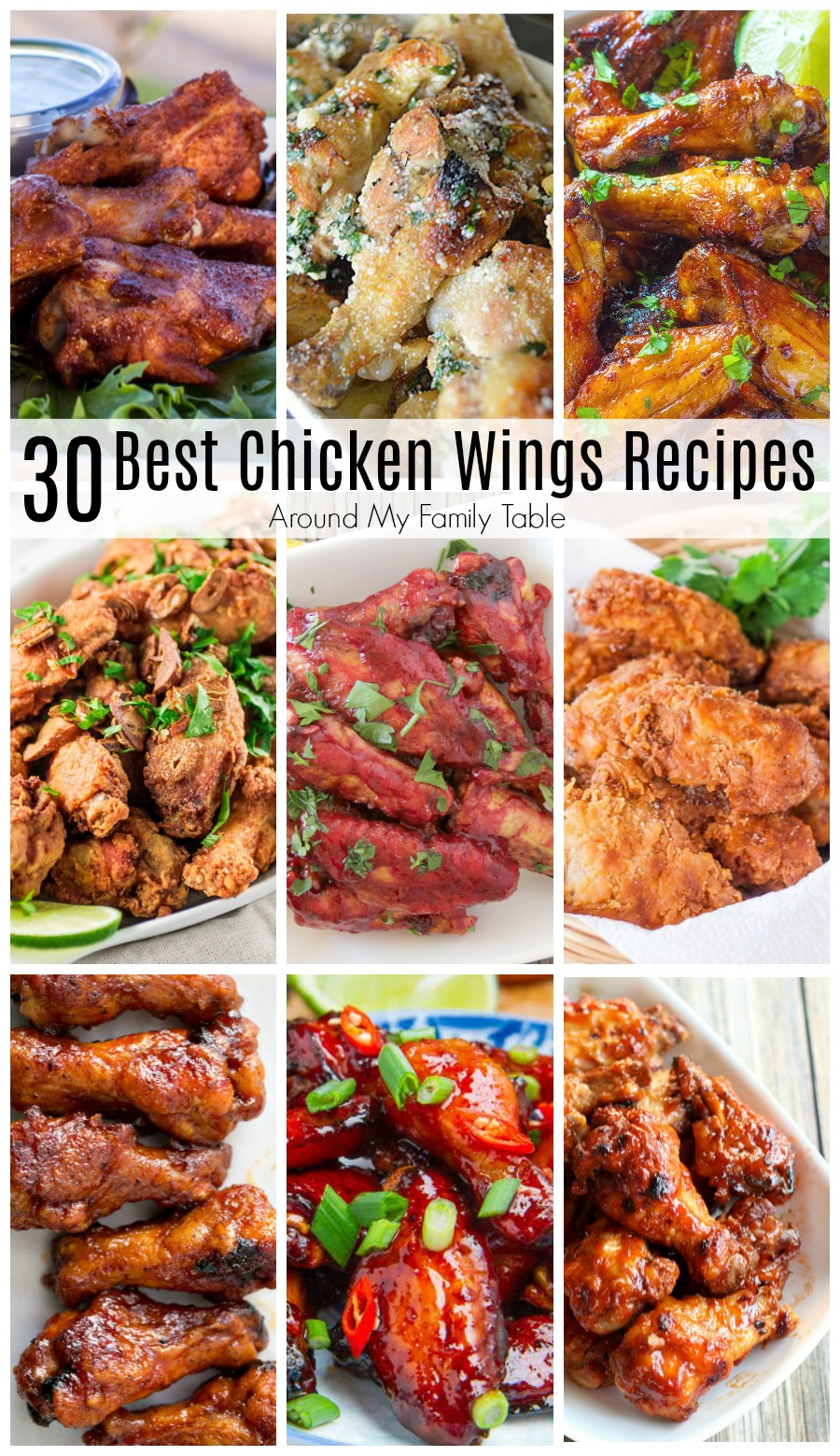 You can have delicious, crispy chicken wings at home!  I'm sharing my favorite 30 Best Chicken Wing Recipes so that you can cook at home and save some money too.