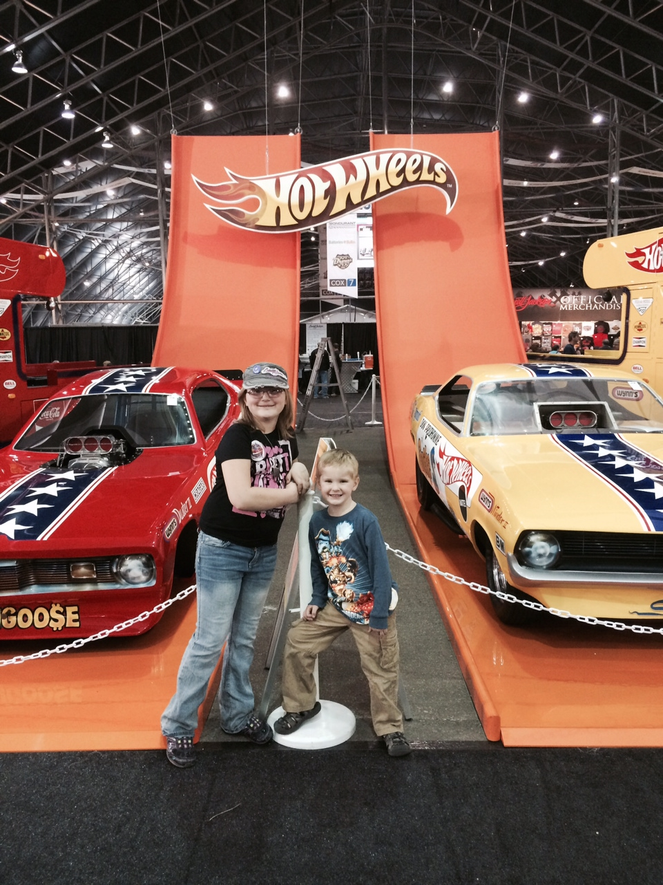Family fun at Barrett Jackson #ScottsdaleAZ