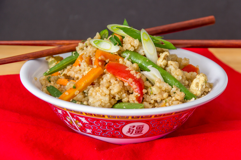 Veggie Fried Rice #15MinuteSuppers
