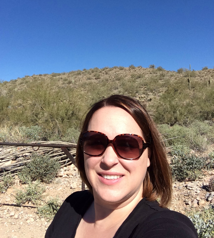 Hiking in the beautiful McDowell Sonoran Preserves in #ScottsdaleAZ